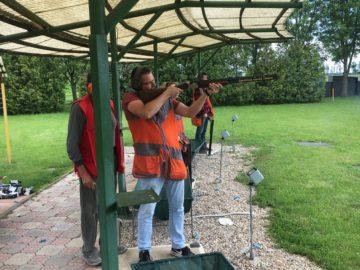 Divízia ETaM si vyskúšala svoju mušku na strelnici